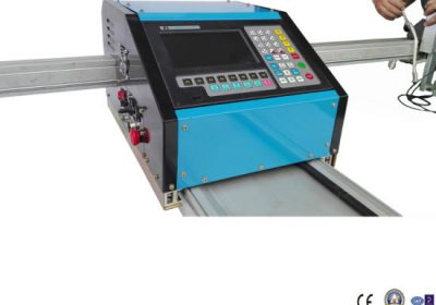 Découpeuse portative de plasma de commande numérique par ordinateur / coupeur portatif de plasma de gaz de commande numérique par ordinateur