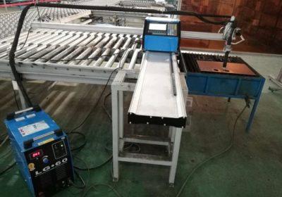 Machine de découpe plasma cnc en aluminium / 6090 machine de découpe plasma cnc robuste / machine de découpe plasma cnc de bureau