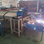 Haute précision Hiwin carré rail plasma cutter 1300 * 2500mm feuille d'aluminium cnc machine de découpe plasma Huayuan 65A puissance plasma