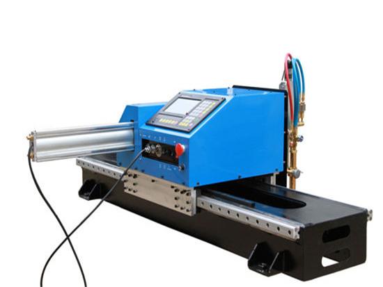 Découpeuse portative de Plasme de commande numérique par ordinateur, prix usine de découpeuse en métal à vendre