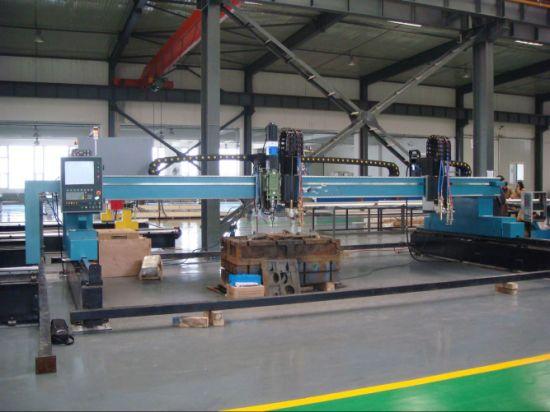 Découpeuse de plasma de commande numérique par ordinateur de fer / acier inoxydable / aluminium / cuivre, coupeur de plasma de commande numérique par ordinateur, coupe de plasma en métal