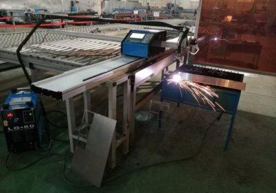 approvisionnement en métal cnc routeur / métal plasma feuille cnc profilé machine de découpe