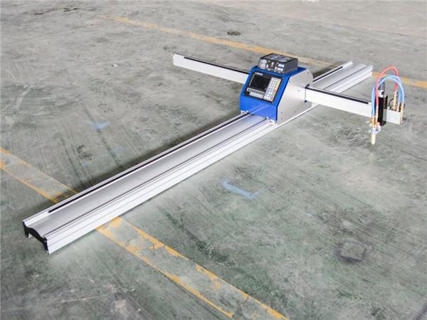Découpe de table à plasma CNC pour plaque inox / acier / tonnelier