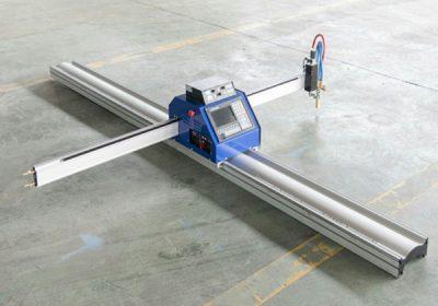 Machine de découpe plasma / flamme cnc pour une utilisation facile pour le métal