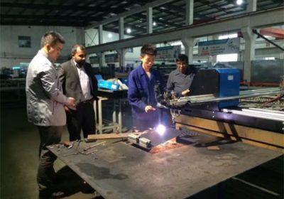 Bonne qualité cnc plasma machine de découpe chine prix usine