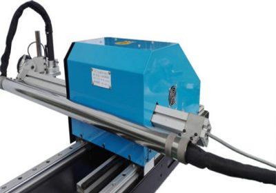 Type de découpeuse de plasma de commande numérique par ordinateur de commande numérique par ordinateur, prix usine de machines de découpage et de forage de plaque d'acier