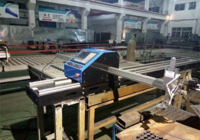 Machine de découpe au plasma à flamme CNC à portique pour plaque métallique