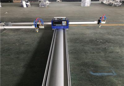 Coupe de la gamme efficace 2000 * 6000mm cutter automatique au plasma cnc