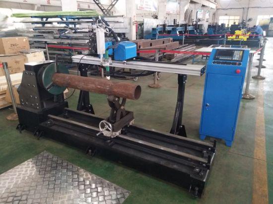 Machine de découpe plasma CNC avec dispositif rotatif