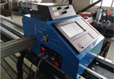 Découpeuse de plasma d'acier au carbone rapide d'air de commande numérique par ordinateur