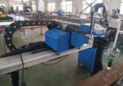 Machine de plasma de commande numérique par ordinateur de coupe de tuyau pour l'acier en acier en acier inoxydable de fer