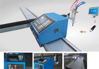 mini machine de découpage de plasma de commande numérique par ordinateur en acier en acier / 6090 incidences / coupeur de plasma de pièces d'auto
