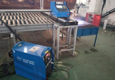 Machine de découpe de trous pour tuyaux d'oxygène et de plasma en acier inoxydable
