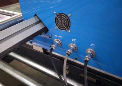 Type portique découpeuse de plasma de commande numérique par ordinateur, coupeur de plasma de découpeuse de plaque d'acier