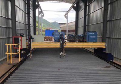 Approvisionnement d'usine 1200 * 1200mm commerce assurance cnc plasma machine de découpe
