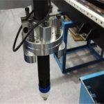 La découpeuse de plasma de définition élevée a coupé la plaque de tôle d'acier inoxydable de cuivre de fer en aluminium
