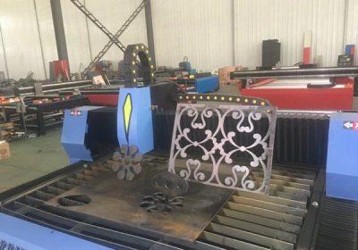 Coupeuse plasma CNC en métal portable avec le logiciel Fastcam