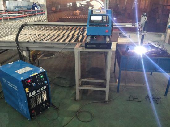 Type de portique CNC Machine de découpe au plasma et de découpe au plasma, machines de découpe et de forage de tôles d'acier prix usine