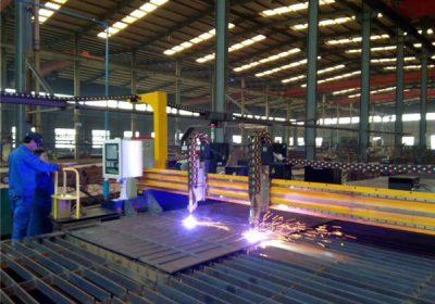 Machine de découpe plasma cnc de qualité européenne avec générateur et rotatif pour le métal