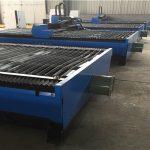 Réduction de vente 1500 * 6000mm 100A faible coût machine de découpe plasma cnc