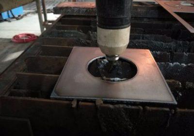 1525 1530 feuille de métal cnc plasma cutter plasma machine de découpe avec lit d'eau